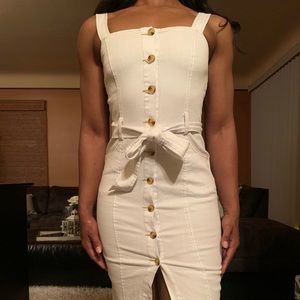 Dresses & Skirts - White Denim (Jean) Dress